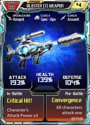 Blaster 1 Weapon
