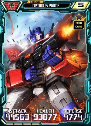 Optimus Prime 3 Robot