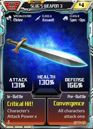Slug 3 Weapon