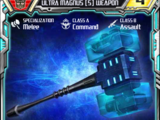 Ultra Magnus (5) Weapon