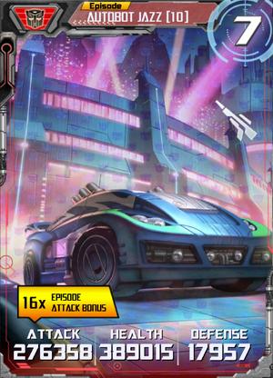 Autobot Jazz 10 Alt