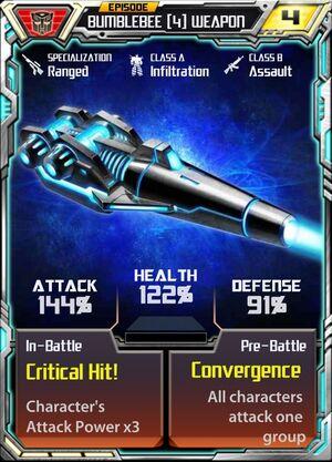 Bumblebee 4 Weapon