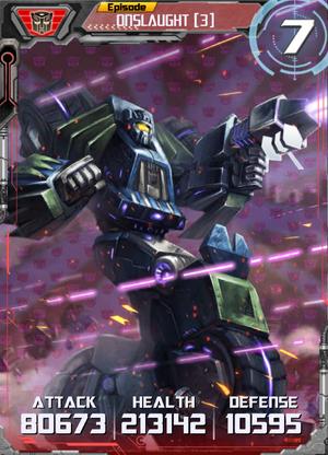 Onslaught 3 Robot