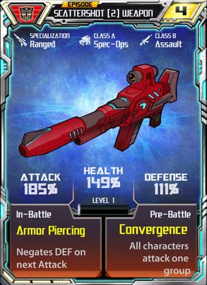 Scattershot 2 Weapon