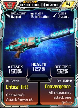Beachcomber 1 Weapon