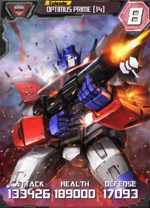 Optimus Prime 14 Robot