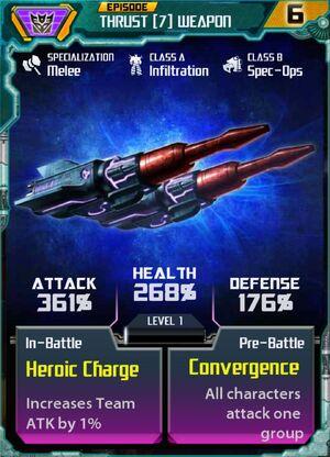 Thrust 7 Weapon