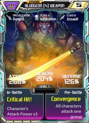 Bludgeon 4 Weapon
