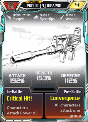 Prowl 9 Weapon