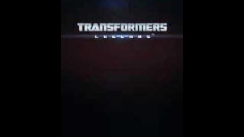 Transformers Legends original short intro