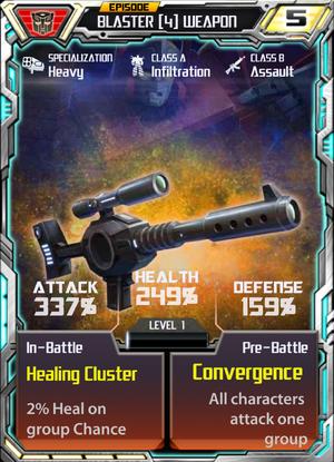 Blaster 4 Weapon