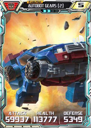 Autobot Gears 2 E2