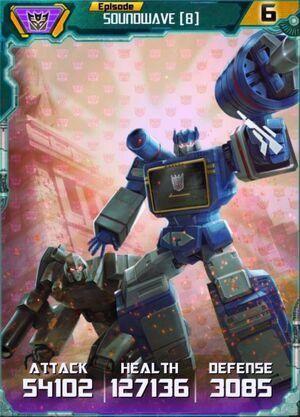 Soundwave 8 Robot