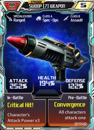 Swoop 7 Weapon