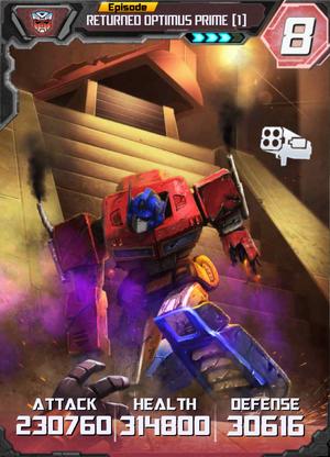 Returned Optimus Prime 1 E3