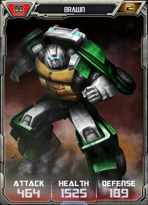 (Autobots) Brawn - Robot (2)