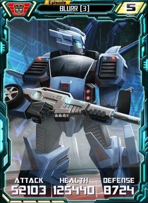 Blurr 3 Robot