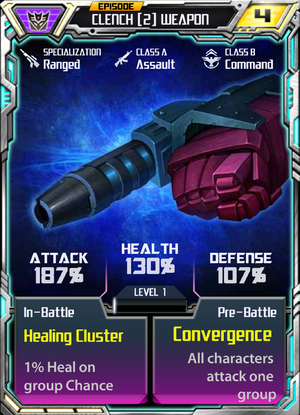 Clench 2 Weapon