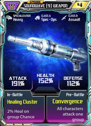 Soundwave 9 Weapon