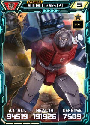 Autobot Gears 2 E4