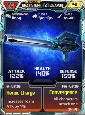 Brainstorm 2 Weapon