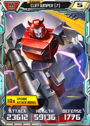 Cliffjumper 7 Robot