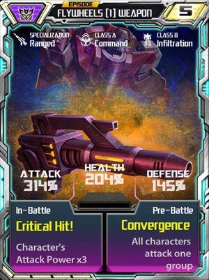 Flywheels 1 Weapon