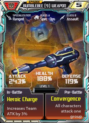 Bumblebee 9 Weapon