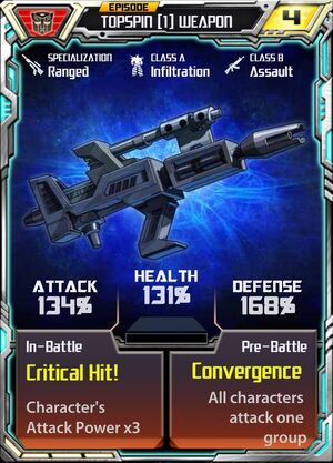Topspin (1) Weapon