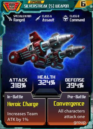 Silverstreak 5 Weapon