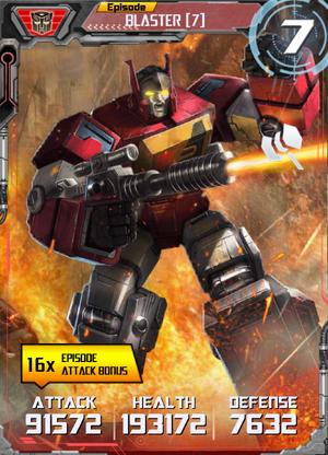 Blaster 7 Robot