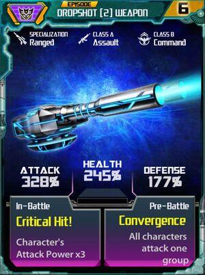 Dropshot 2 Weapon