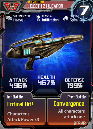 Eject 2 Weapon