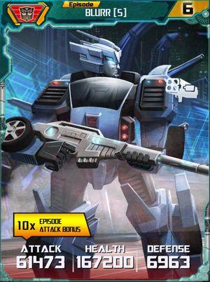 Blurr 5 Robot