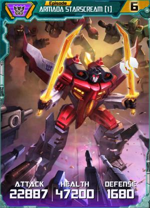 Armada Starscream 1 Robot