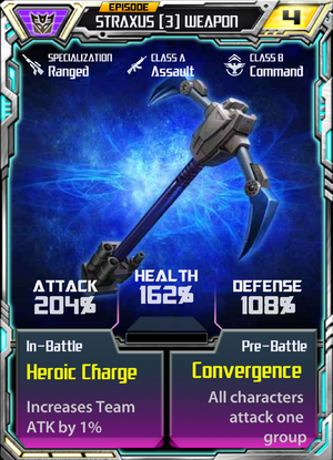Straxus 3 Weapon
