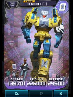 Weirdwolf 2 Robot