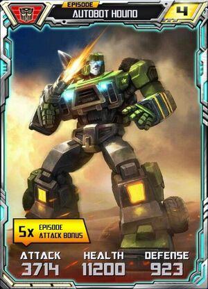 Autobot Hound 2 Robot