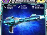 Breakdown (1) Weapon