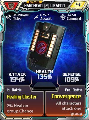 Hardhead 2 Weapon