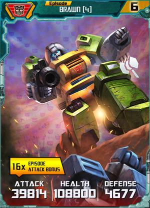 Brawn 4 Robot