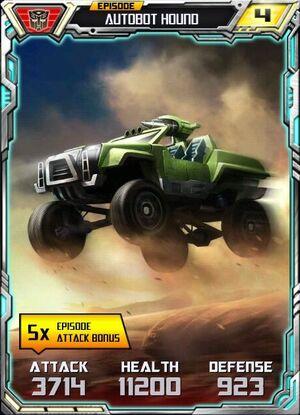 Autobot Hound 2 Alt