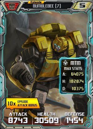 Bumblebee 7 Robot