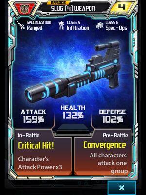 Slug (4) Weapon