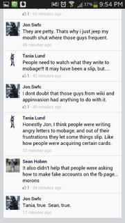 Screenshot by 11165765 - Facebook - Accidental Information Leak