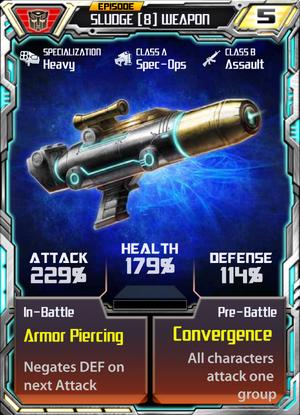 Sludge 8 Weapon