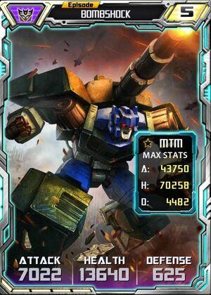 Bombshock 1 Robot