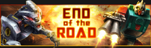 BoE End of the Road banner
