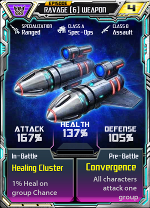 Ravage 6 Weapon