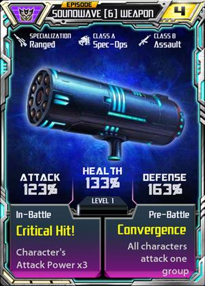 Soundwave 6 Weapon
